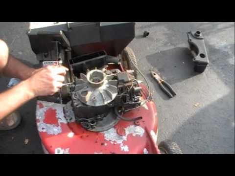 Toro Recycler Mower - YouTube