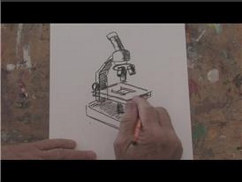Drawing basics how to draw a microscope youtube drawing basics how to draw a microscope ccuart
