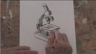 Drawing Basics : How to Draw a Microscope