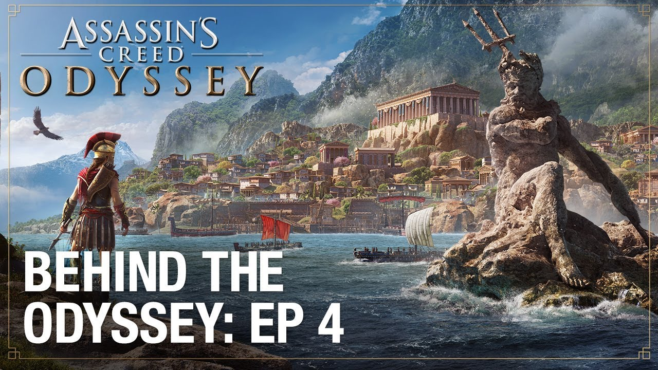 Assassin S Creed Odyssey Ep 4 Ancient Greece Behind The Odyssey Ubisoft Na Youtube