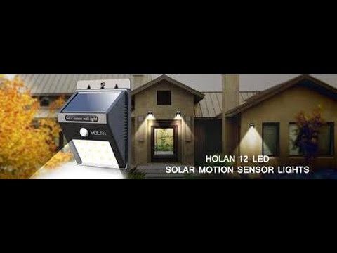 Holan Solar Lights The Gadget Professor #297