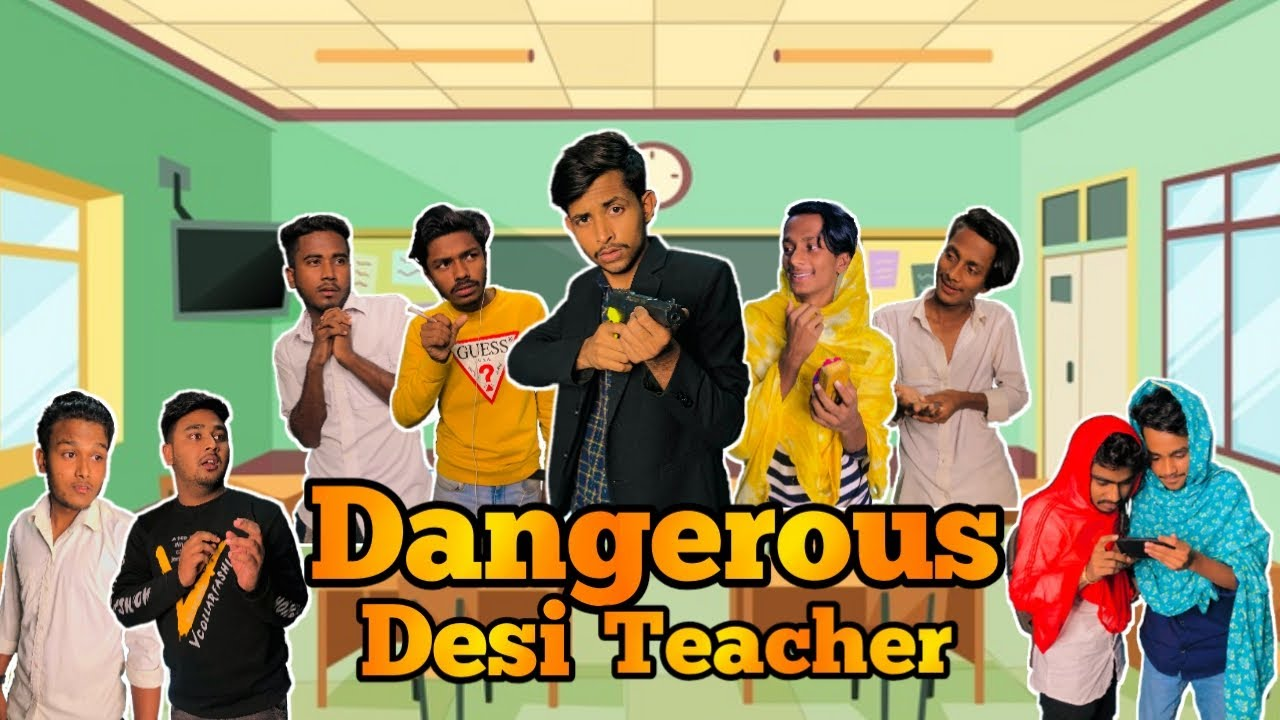 Dangerous Desi Teacher 2 | Bangla funny video | BAD BROTHERS | It's Omor | omor