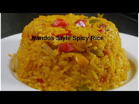 Nandos Style Spiced Rice