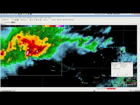 AWIPS - Time of Arrival and Lead Time Tool