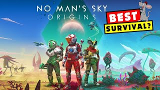THE BEST SURVIVAL EXPLORATION GAME NOW? No Mans Sky Origins Is Live! PC PS4 XBOX! GIANT SANDWORMS!