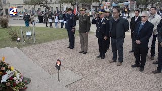 Acto por la Declaratoria de la Independencia se cumplió en Plaza Artigas