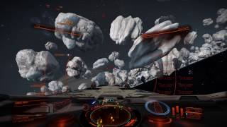 Elite Dangerous - Anaconda with all Rapid Fire Pulse Turrets