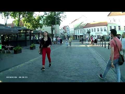 Vilnius Lithuania walking tour old town