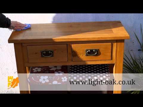 How To Clean Oak Furniture and Oak Furniture Maintenance