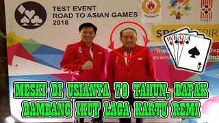 Orang Terkaya di Indonesia Sekaligus Atlet Tertua Ternyata Ikut Berlaga di Asian Games 2018
