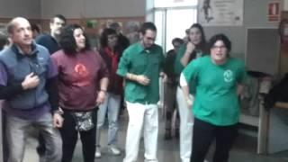 COLLA GEGANTERA DE CANOVELLES DE FESTA  AL PUNTET DE LLORET DE MAR