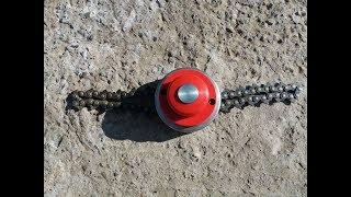 Chain Trimmer Head II- THE BEST BRUSH CUTTER| Disc motocoasa cu lant Ruris DAC310 thumbnail