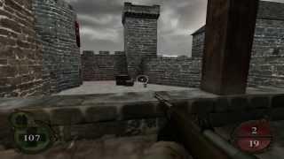 Return To Castle Wolfenstein Walkthrough Operation Resurrection - Part 10 ( Castle Keep ) PS2