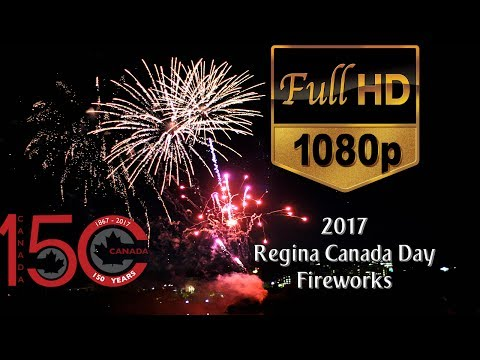 2017 Regina Canada Day Fireworks   #Canada150