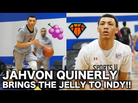 JellyFam's Jahvon Quinerly DID DAMAGE Out in Indianapolis!! | FULL HIGHLIGHTS from UAA Session 2
