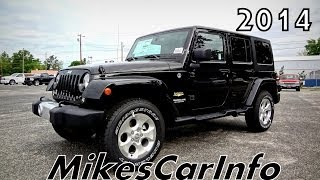 2014 JEEP WRANGLER UNLIMITED SAHARA Black