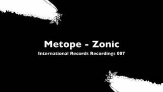 Metope - Zonic (IRR)
