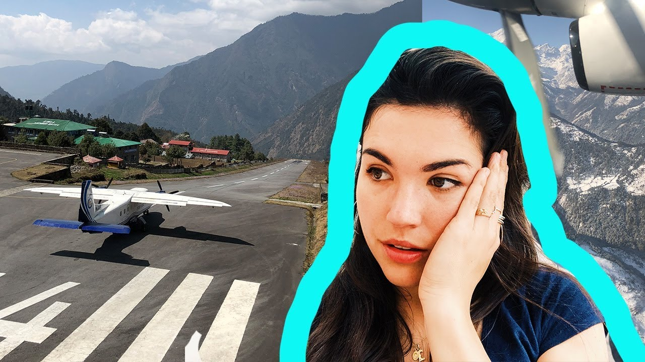 Landing at the WORLD's Most Dangerous Airport (Lukla)