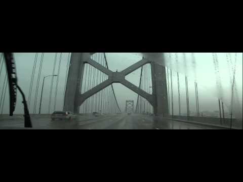 Rainy Oakland - San Francisco Bay Bridge, California