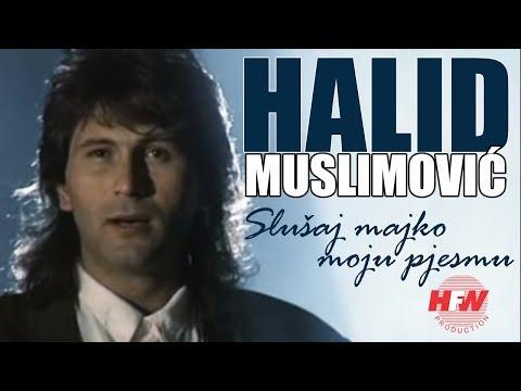 Halid Muslimovic - Slusaj majko moju pjesmu (Official Video 1989) HD