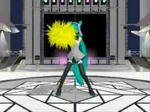 MikuMikuDance-Vocaloid Program-Lucky Star OP.