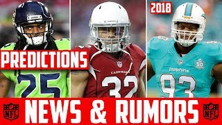 2018 NFL FREE AGENCY PREDICTIONS - NFL NEWS & RUMORS 2018 OFFSEASON Richard Sherman Kirk Cousins