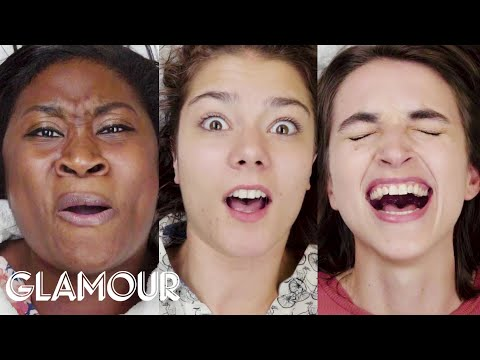 Women Get Bikini Waxes for the First Time, in Slow Motion | Glamour