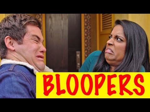 Thumbnail: BLOOPERS: When A Brown Girl Dates a White Boy (ft. Adam Devine)