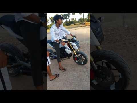Moto MSX 2017_Play Boy Khmeng Khmer Sport Team MOTO MSX 2018