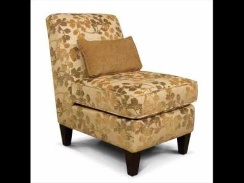 Armless Accent Chairs |Living Room Chair Gallery - YouTube