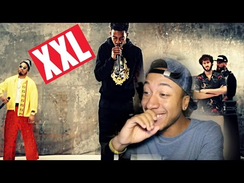 Desiigner, Lil Dicky & Anderson  Paak's 2016 XXL Freshmen Cypher REACTION!!!