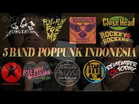 5 band pop punk terbaik di Indonesia