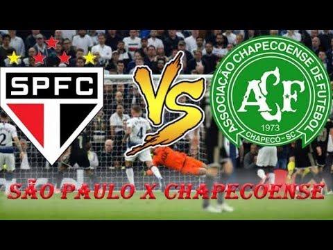 São Paulo X Chapecoense - 11ª Rodada Do Campeontado Brasileiro 2019 (Lances/Gols)