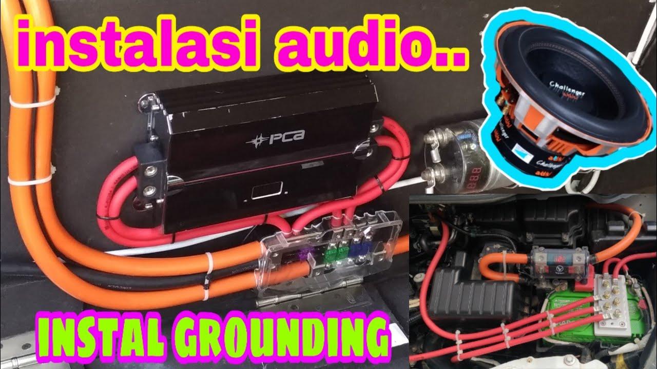 Instalasi Audio Mobil  U0026 Instal Grounding 3 Big Upgrade