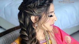 weeding hair style 💓