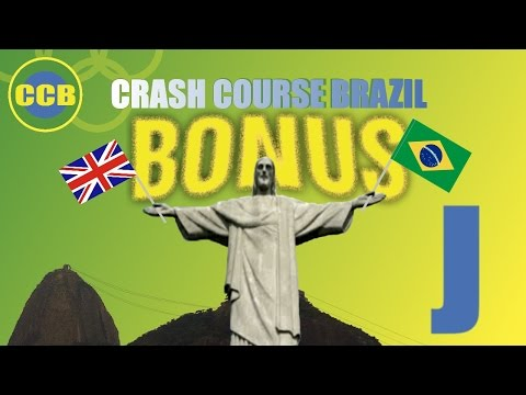Portuguese for beginners; vocabulary : English words you can use in Brazil; letter J