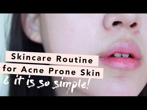 Skincare Routine Guide for Acne Prone Skin • How To Layer Active Ingredients & Oil