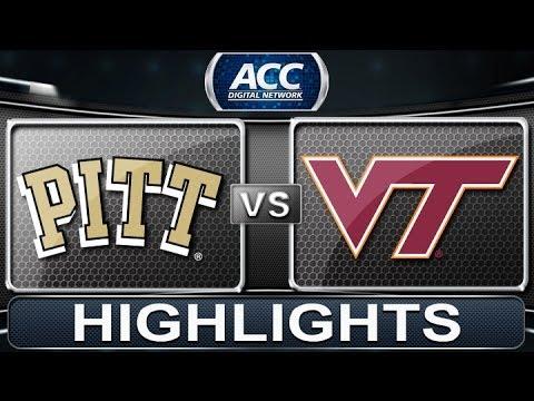 2013 ACC Football Highlights   Pittsburgh Vs Virginia Tech   ACCDigitalNetwork