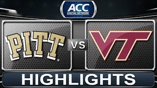 2013 ACC Football Highlights | Pittsburgh vs Virginia Tech | ACCDigitalNetwork