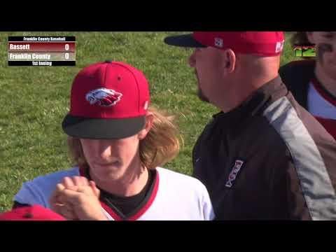 Franklin County Baseball vs. Bassett