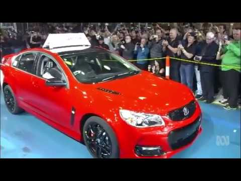 Last Holden Car Rolls Out In Adelaide Ending Australian Manufacturing