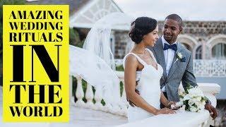 दुनिआ भर में शादियों की अजीबोग़रीब परंपरा | Extraordinary wedding Traditions from around the Globe