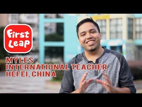 ESL Teacher in China Interview - Myles (Hefei, China)