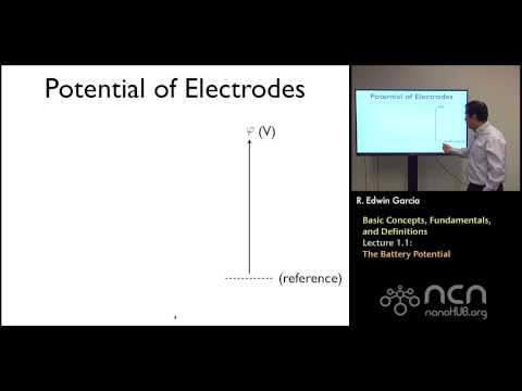 nanoHUB-U Rechargeable Batteries L1.1: Basic Concepts - The Battery Potential