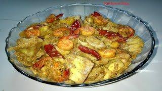 বাঙ্গালির ঐতিহ্যময় এঁচোড় চিংড়ি | Traditional Bengali Shrimp & Raw Jackfruit Curry | এঁচোড় চিংড়ি