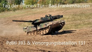 Leopard 2A6 Tank Show - Bad Frankenhausen