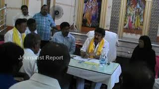 బాలకృష్ణ ముందు తెలుగు తమ్ముళ్ల పంచాయితీ MLA Balakrishna with Party Leaders in Hindupuram