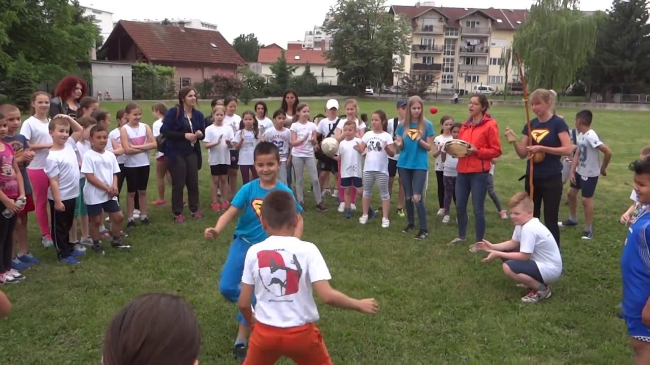 Os Augusta Cesarca Zagreb Dan Skole Capueira Youtube