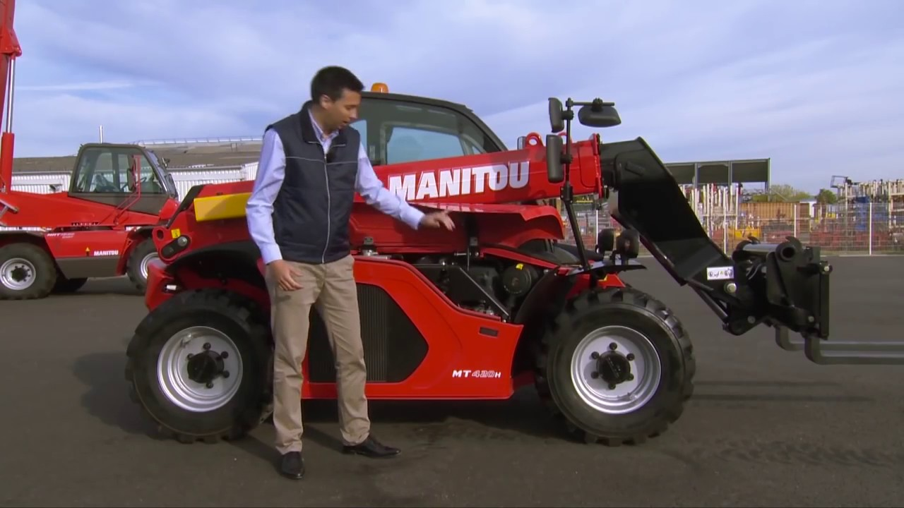 Fabelhaft MANITOU NEW COMPACT TELEHANDLER MT 420 H - YouTube @PS_83