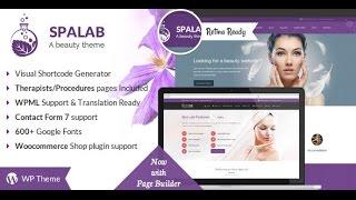 Spa Lab Wordpress Theme Review & Demo   Beauty, Wellness Spa WordPress Theme   Spa Lab Price & How to Install